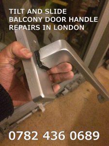 SLIDING BALCONY DOOR HANDLE REPAIRS LONDON