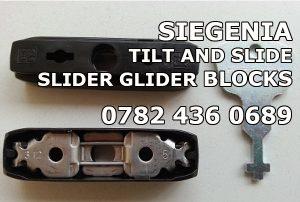 Siegenia top sliders for sliding doors