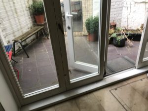 fix bifold glass door in Camden 4