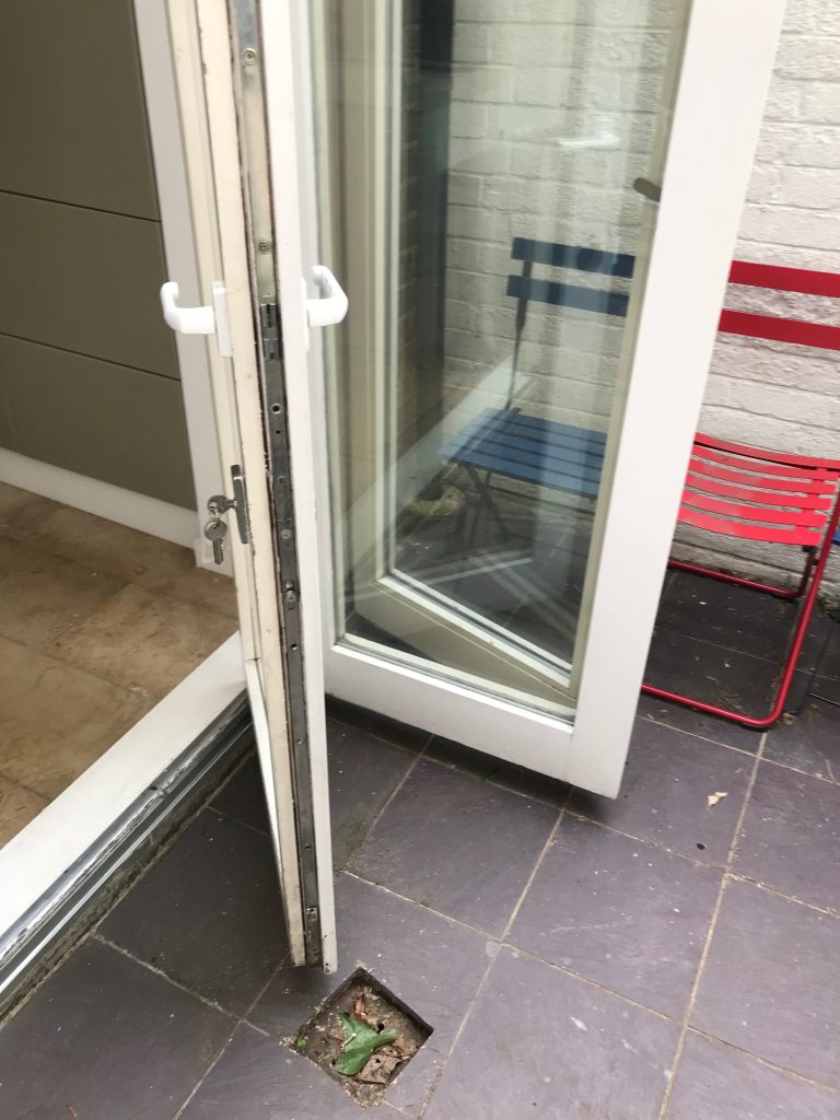 bifold glass door repairs in Camden
