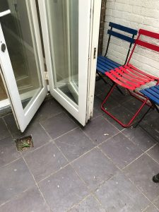 fix bifold glass door in Camden 3