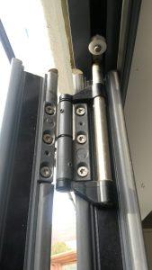 top hung roller on bi-fold door