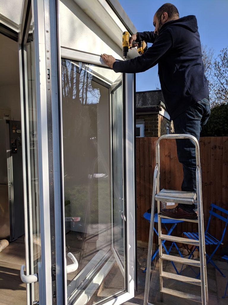 Customised Bifold Door repair