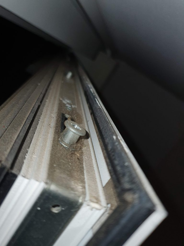 Tilt and Turn Door Corner bracket Locking Mechanism Bermondsey